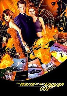 James Bond 007 The World Is Not Enough 007 (1999) พยัคฆ์ร้ายดับแผนครองโลก