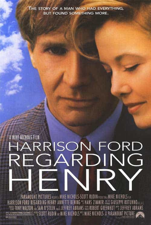 Regarding Henry (1991) ชื่อเฮนรี่ ไม่มีวันละลาย